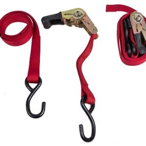 Ratchet Strap with S-Hook 1.5 m